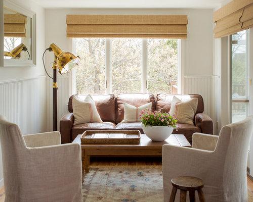 SaveEmail - Leather Sofa Fabric Chairs Houzz