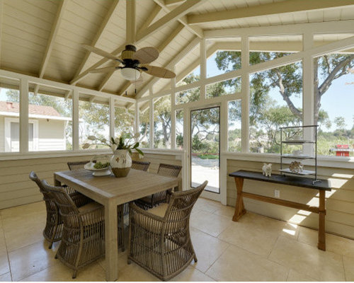 Farmhouse san francisco sunroom design ideas remodels for Farmhouse sunroom ideas