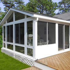 Traditional Sunroom by SUNQUEST INC