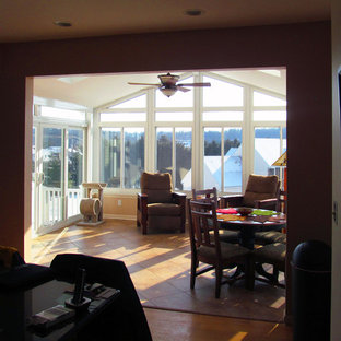 Photo of a contemporary conservatory in Baltimore.