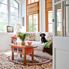 Traditional Sunroom by Charleston Home + Design Mag