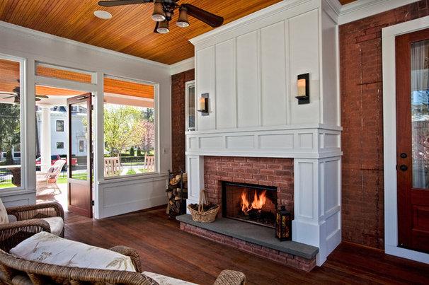 Traditional Sunroom by Teakwood Builders, Inc.