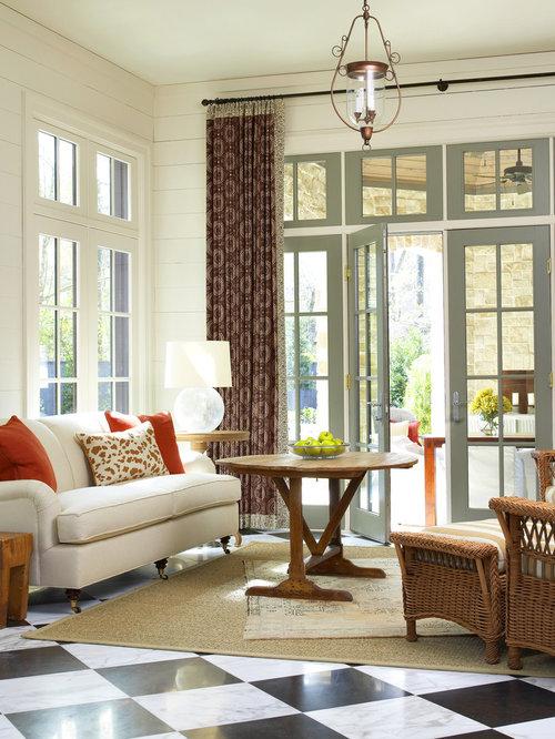 Klassische wohnzimmer mit marmorboden ideen f rs einrichten houzz - Marmorboden wohnzimmer ...