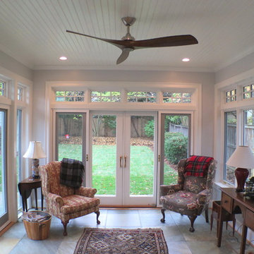 Chevy Chase Renovation, Sunroom and Patio Addition