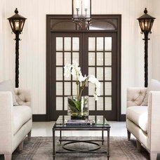 Traditional Porch by Linda McDougald Design   Postcard from Paris Home