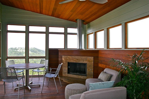 Contemporary Sunroom by Barley|Pfeiffer Architecture