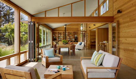 A Wine-Country Cabin That's the Toast of the Town