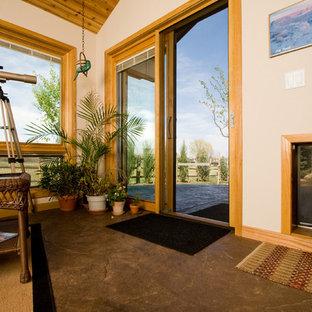 Inspiration for a timeless sunroom remodel in Denver