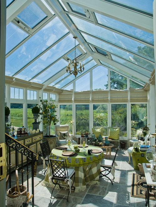 Rustic Turquoise Sunroom Design Ideas Remodels Photos