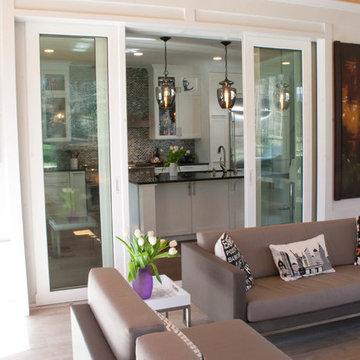 Contemporary Kitchen & Screened Porch Addition / Renovation