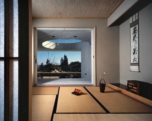 v randas et verri res avec un sol en bambou photos et id es d co de v randas et verri res. Black Bedroom Furniture Sets. Home Design Ideas