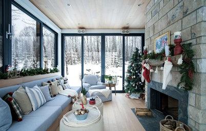 Kleine Fluchten: 24 festliche Wohnzimmer zu Weihnachten