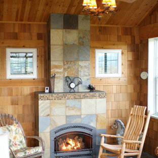 Country Home Fireplace