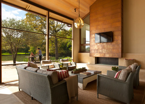 Contemporary Porch by Furman + Keil Architects