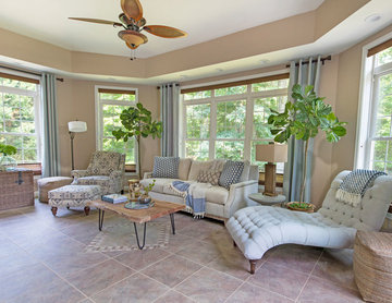Cozy Natural Sunroom