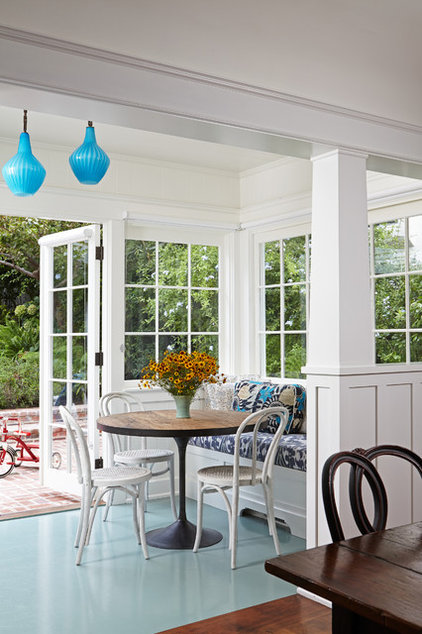 Transitional Sunroom by Lewin Wertheimer
