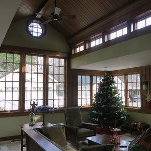 Craftsman inspired Conservatory