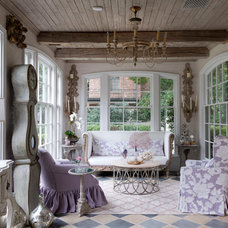 Traditional Sunroom by Creative Tonic - Courtnay Tartt Elias