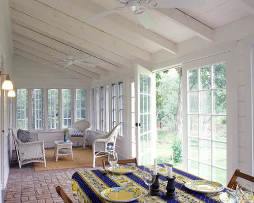 farmhouse sunroom design photos - Sunroom Ideas