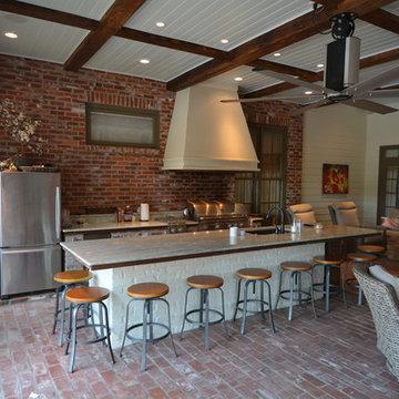 Custom Outdoor Kitchen 2