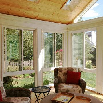 Custom Sunroom - A Sunny Retreat