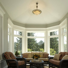 Traditional Sunroom by Visbeen Architects
