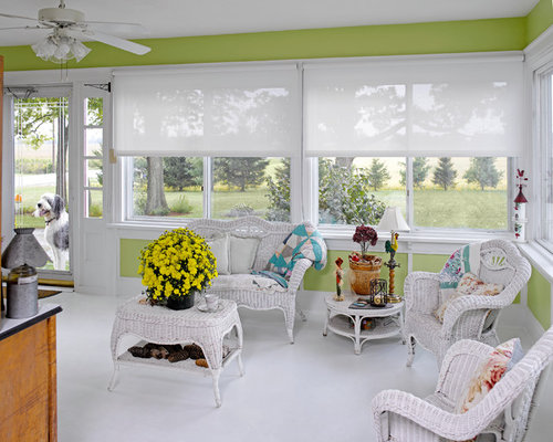 75 Trendy Conservatory With Laminate Floors Design Ideas