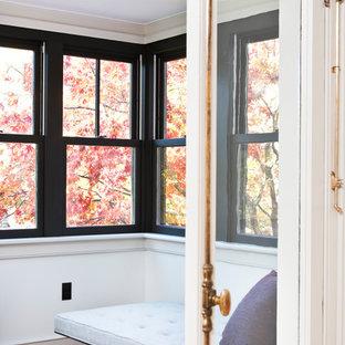 Sunroom   Victorian Medium Tone Wood Floor And Brown Floor Sunroom Idea In  New York With