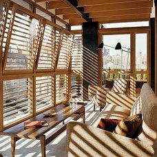 Modern Sunroom by pulltab design