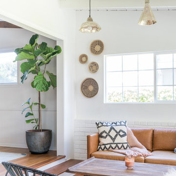 Eclectic Sunroom