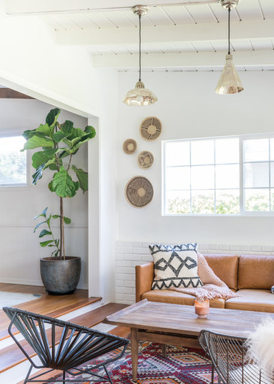 Eclectic Sunroom by Oh beauty Interiors