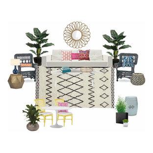 Eclectic Sunroom E-Design Mood Board