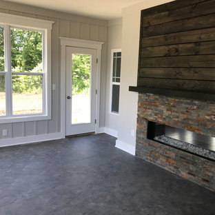 Enclosed Porch with Fireplace II