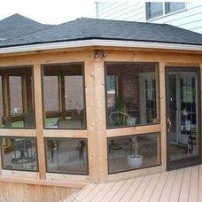 Sunroom by Woodcraft Design & Build