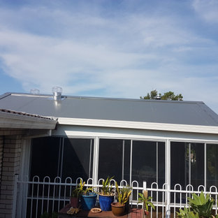 Engadine - insulated roof panel, skylight and ventilation
