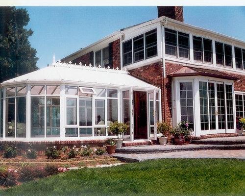 Victorian Blue Sunroom Design Ideas Remodels Photos Houzz