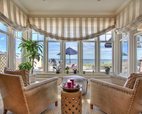 Sunroom Curtains Home Design Ideas Renovations Photos