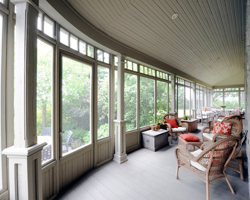 Farmhouse ottawa sunroom design ideas remodels photos for Farmhouse sunroom ideas