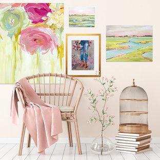 Floral & Pastel Sunroom