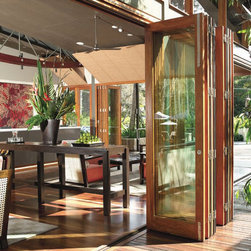 Folding Doors - Conservatory Craftsmen offers Folding Doors!
