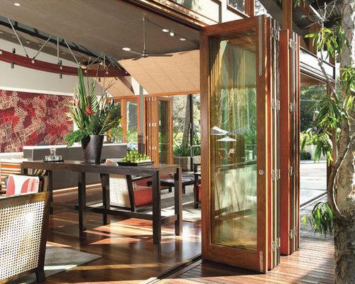 idee Glass veranda : Verandas et verri?res asiatiques avec un plafond en verre : Photos ...