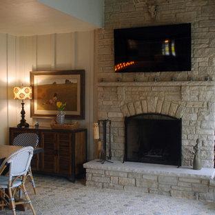 Four Seasons Room Fireplace