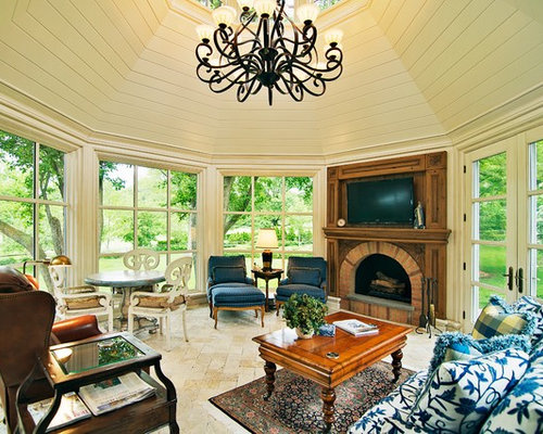Octagon Sunroom Home Design Ideas Pictures Remodel And Decor