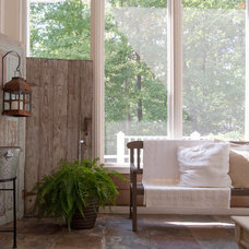 farmhouse porch by Adrienne DeRosa