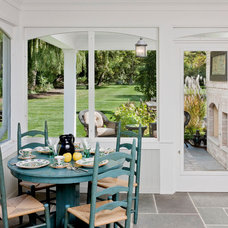 Traditional Sunroom by crbs co.