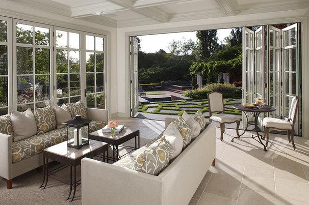 Traditional Sunroom by EJ Interior Design, Eugenia Jesberg
