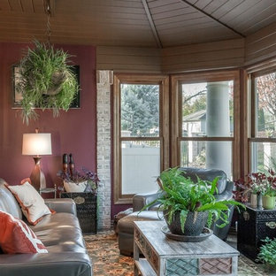 Global Eclectic Sunroom