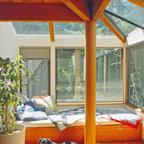 Woolman Woods Model Spring 2012 Rustic Sunroom