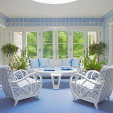 Beach Style Sunroom by Anthony Baratta LLC