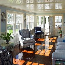 Beach Style Sunroom by Patrick Ahearn Architect